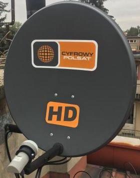 Montaż Ustawienie anten satelitarnych.Serwis anten!
