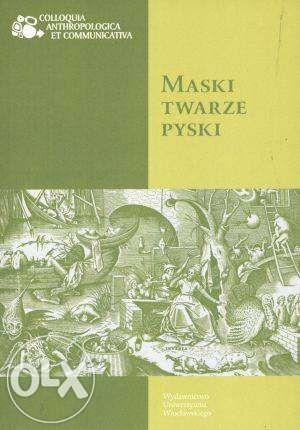 """Katarzyna Konarska """"Maski Twarze Pyski"""" TEORIA Literatury podręcznik."""