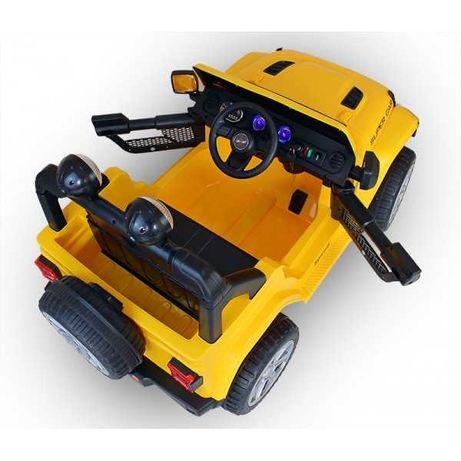 DWUOSOBOWY jeep Auto na akumulator+pilot+kluczyki! dla dziecka 1-5 lat