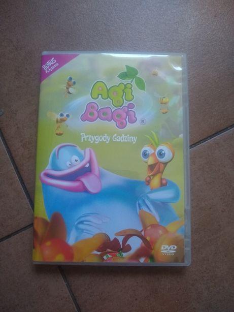 DVD Agi Bagi przygody gadziny bajki plus soundtrack