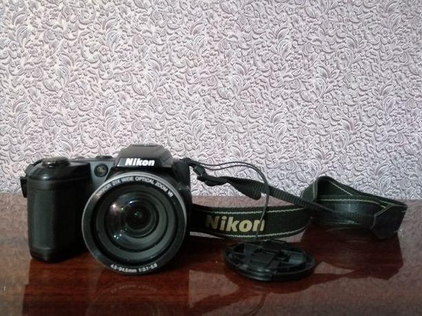 Фотоапарат в отличном состояние nikon L120