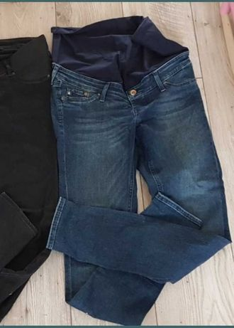 Spodnie dżins Skinny ciążowe H&M r40