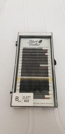 Rzęsy Black Feather B 0,07