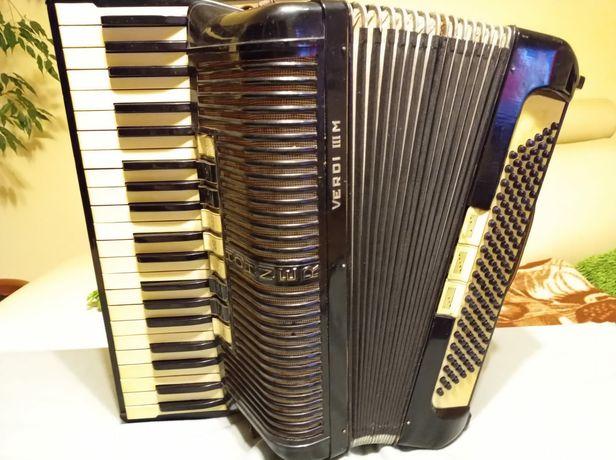 Akordeon Hohner Verdi III M, 120 basów