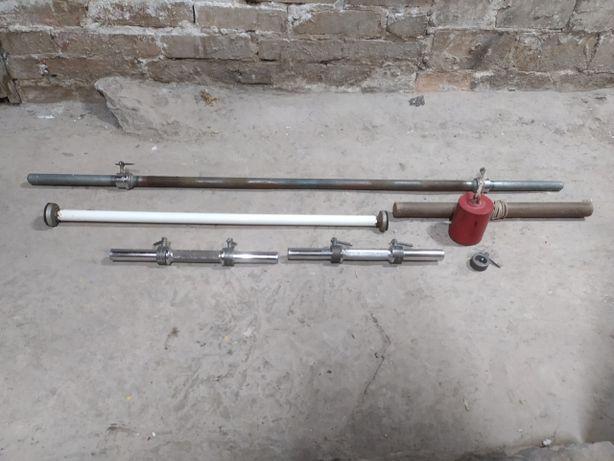 Gryf prosty 140 cm średnica 26 mm