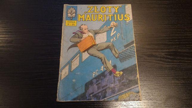 """Komiks - Kapitan Żbik wydanie 1 - """"Złoty"""" Mauritius"""