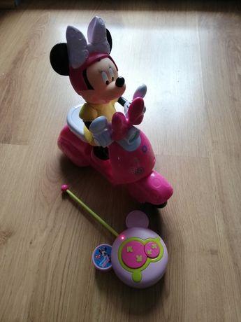 Myszka Minnie na skuterku sterowana