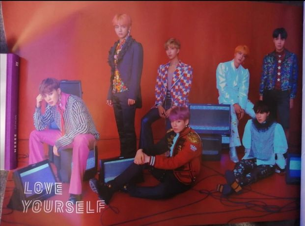 Poster bts LY answer ver. S