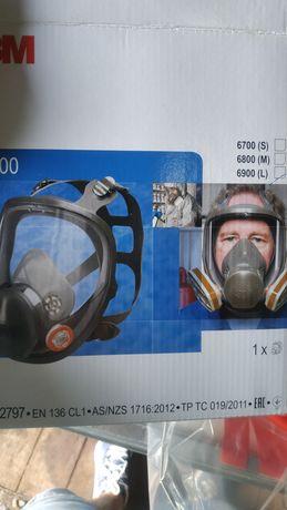 Maska pełna 3M nowa