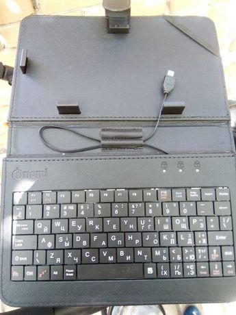 Чехол, клавиатура для планшета nomi на 7 дюймов экран!!