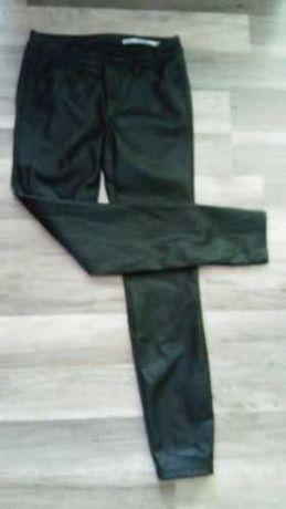 Spodnie z ekoskóry Zara xs /s