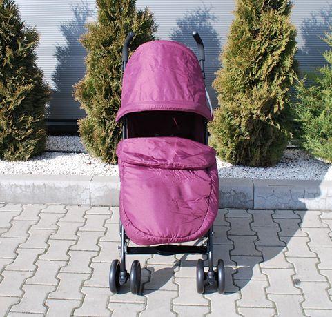 Wózek spacerowy spacerówka parasolka + śpiworek folia Cuggl Maple