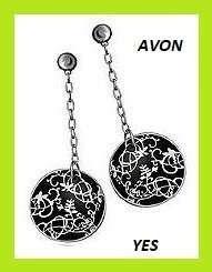 Avon nowe kolczyki z kolekcji YES