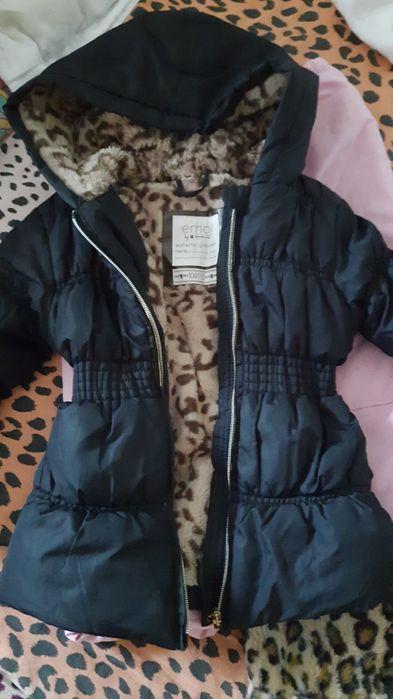 Мягусенькая деми курточка девочке 104-110 рост Чернигов - изображение 1
