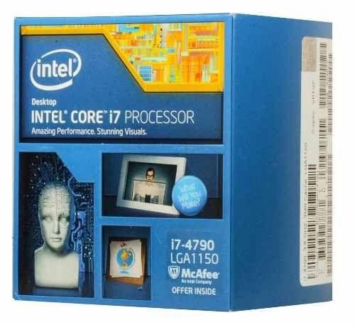 Intel i7-4790 (3.6 Ghz) - Processador (CPU) - Socket (LGA) 1150 (5)
