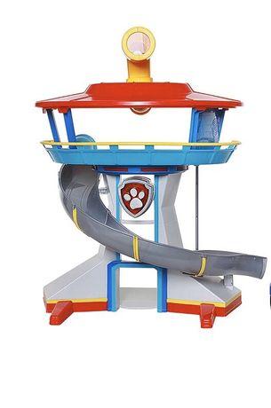 Psi patrol baza paw patrol muzyka winda zjeżdżalnia do złożenia 49 cm