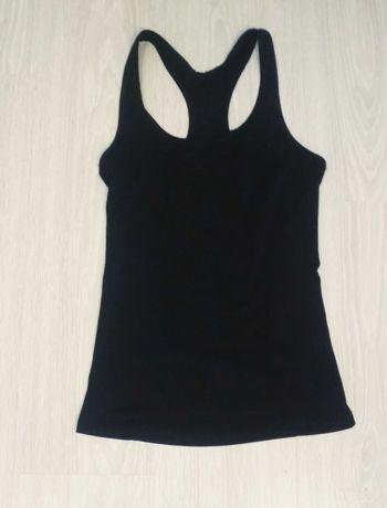 Czarna sportowa koszula