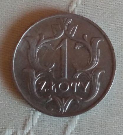 1 Злотий 1929, 1 Дойчмарка 1971 G
