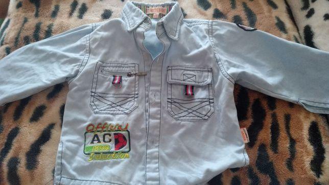 Рубашка на новорожденного