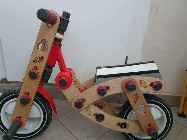Berg Moov 3 in 1 zestaw konstrukcyjny, rower biegowy, skuter, dźwig