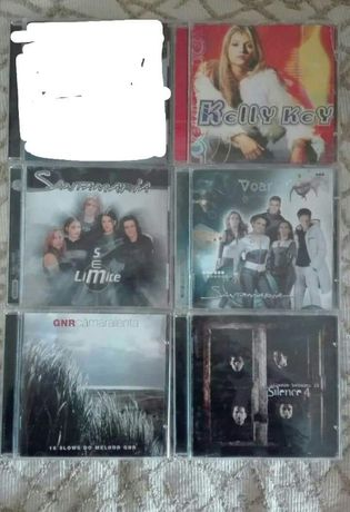 Lote CD's Música Vários (ou Unidade)