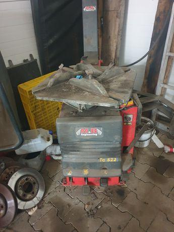 Montażownica wyważarka kompresor
