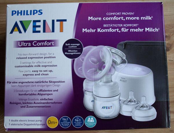 Podwójny elektryczny laktator Philips Avent Ultra Comfort, nowy