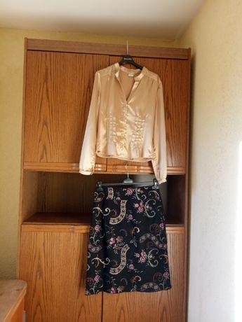 super BIALCON spódnica + bluzka