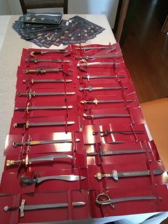 Coleção de 22 Espadas de Lenda mini