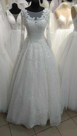 Весільна сукня айворі