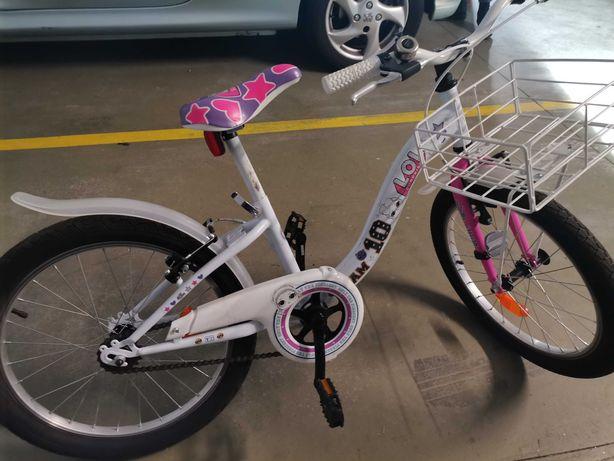 Bicicleta para menina da boneca LOL