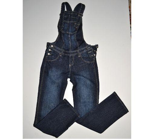 712#spodnie jeans elastyna ogrodniczki 38/40