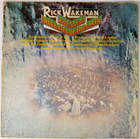 Disco vinil Lp Journey to The Centre of the Earth, de Rick Wakeman