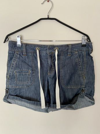 Jeansowe krótkie spodenki szorty Tommy Hilfiger