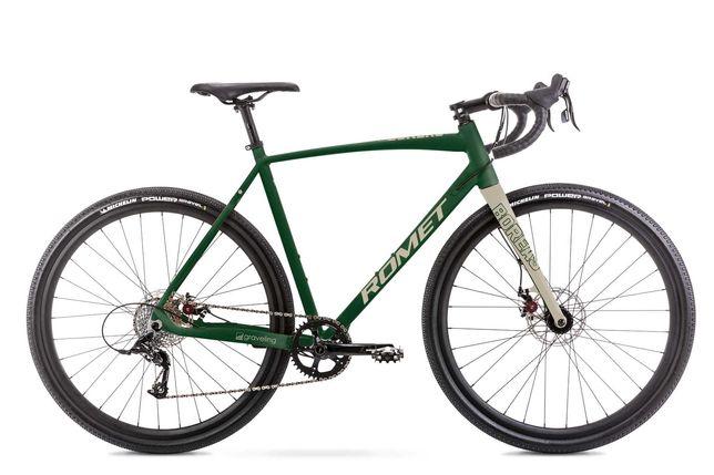 Rower ROMET Boreas 1 2021 zielony 56cm