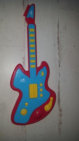 Gitara małego muzyka