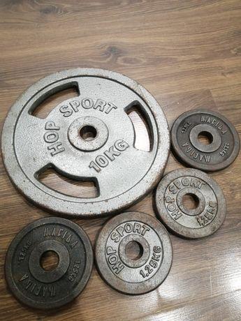 Obciążenie żeliwne fi 28mm 15kg