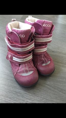 Зимние сапоги ботинки Ecco Gor-tex 24 размер