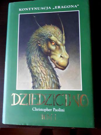 """""""Dziedzictwo"""" tom I Christopher Paolini"""