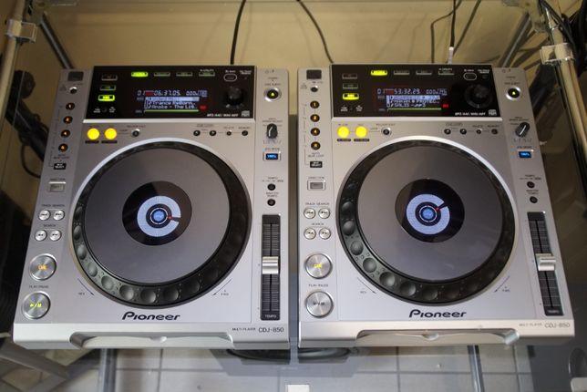 2 x Pioneer CDJ 850 Idealne Gwarancja Skup Zamiana DJM 700/750/800