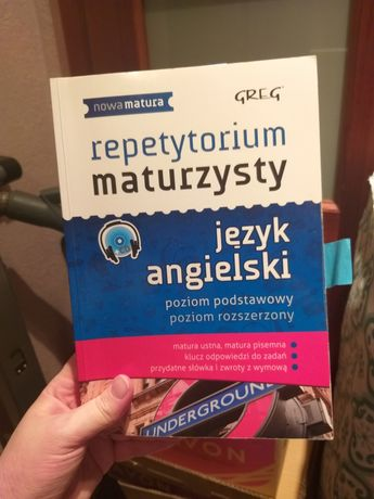 Repetytorium maturzysty z jęz. angielskiego - poziom podst+rozszerzony