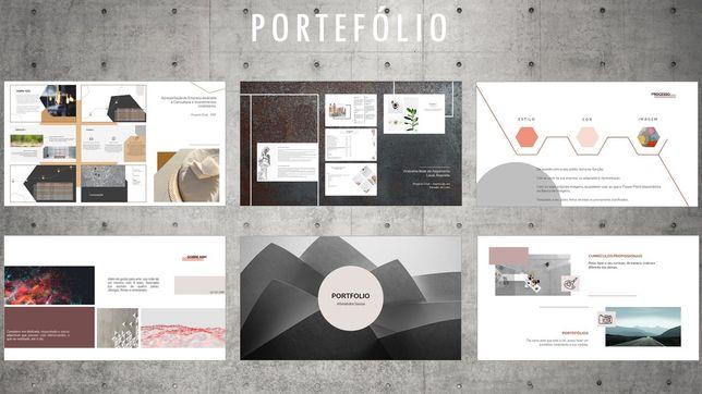 Power Point - Teses, portfólios, apresentações, currículos etc.
