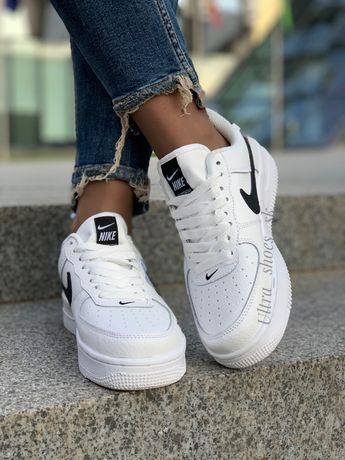 Nike air force tm кроссовки женские белые