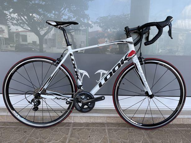 Bicicleta Look em carbono
