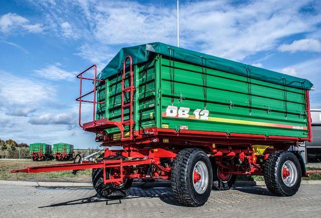 Przyczepa rolnicza wywrotka METAL-TECH DB 12 Ton | Pronar Wielton