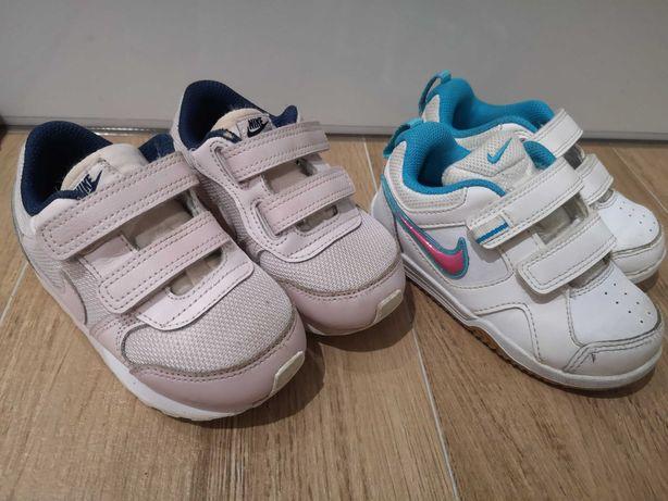 Adidasy Nike r. 23.5 Dwie pary-super wygodne