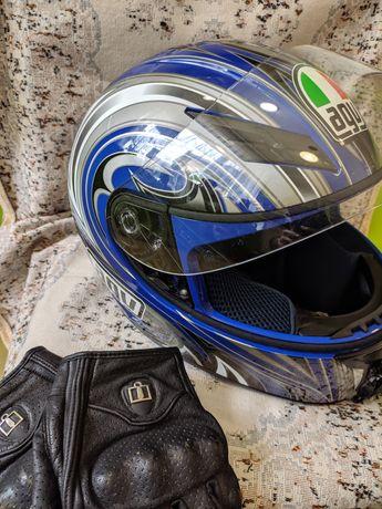 Шлем Agv-K 3 в хорошем состоянии.