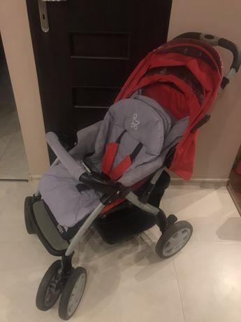 Wózek spacerówka, spiworek