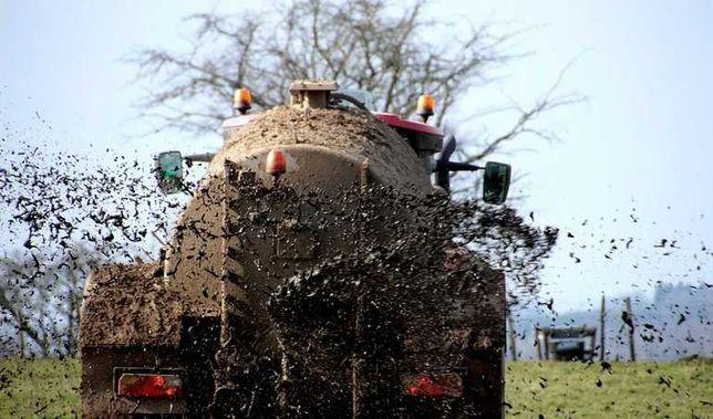 Zagęszczona gnojowica beczka 18 000l