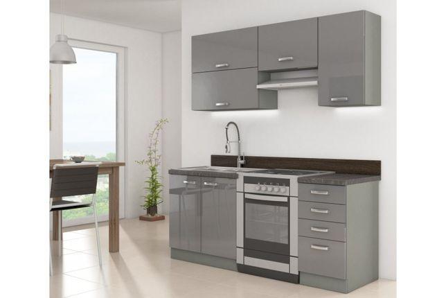Bianka,, rose grey meble kuchenne połysk. szafki kuchenne 4 kolory